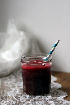 Valentine's juice: rode biet, appel, gember & limoen | Yellow lemon tree