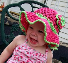 Baby girl hat you pick the size and colors by conniemariepfost