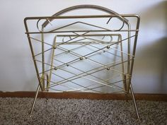 Check out this item in my Etsy shop https://www.etsy.com/listing/449107496/vintage-mid-century-modern-gold-toned