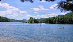 6 Great Lakes Near Asheville, NC. This is Lake Glenville near Cashiers, NC.