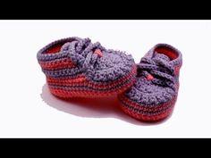 Пинетки ботиночки крючком от Василисы Жолтиковой » Мастерю - все своими руками