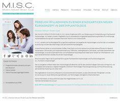 KURSKONZEPT - M.I.S.C.® bietet Wissen & Kompetenz für Einsteiger und Profis. Bei uns erhältst du erstklassiges Know-how auf dem spannenden Gebiet der Implantologie.