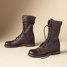 Molly Military Jump Boots By Vintage Shoe Co in Fall 2012 from Sundance