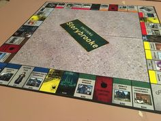 queenofallswans: Working on my newest Monopoly...