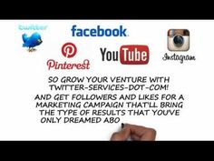 ▶ How to Get Facebook Likes, Twitter Followers, Instagram Followers, Youtube and Pinterest Followers - YouTube