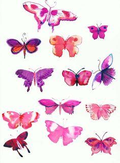 butterflies by rebecca bradley
