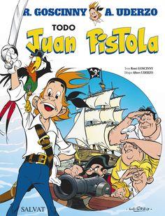 El capitán Juan Pistola, Jazmín —su mascota— y la curiosa tripulación de El Bravo surcan los mares en busca de aventuras. Goscinny y Uderzo nos invitan a adentrarnos en el universo de la piratería para descubrir muchas de las claves que, con Astérix, llevarían al éxito mundial al famoso tándem de creadores.  http://www.rtve.es/noticias/20141113/juan-pistola-hermano-mayor-asterix-obelix/1047202.shtml http://rabel.jcyl.es/cgi-bin/abnetopac?SUBC=BPSO&ACC=DOSEARCH&xsqf99=1773823+