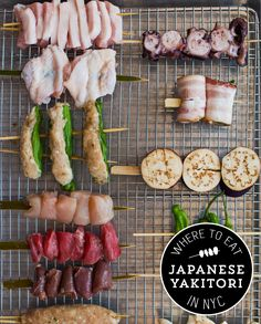 Find the best yakitori in NYC.
