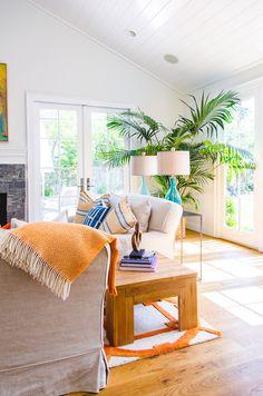 Menlo Park family room - Evars + Anderson Interior Design