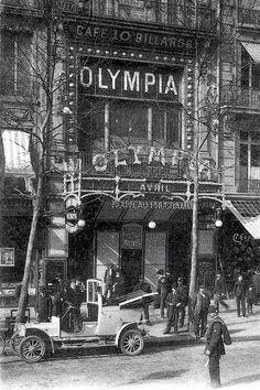 12 avril 1893 : Inauguration de l'Olympia, salle de spectacle située boulevard des Capucines à Paris...