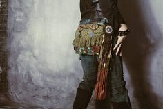 Voyager Treasured Teal Warpony Pants / Boho Pants / Tribal www.morethanmammalinc.etsy.com #royalpeasantry #shopping #fashion #warpony #warponypants #adorned #pants #traveler #postapocalypticfashion