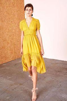 Sonja Dress in Honey by Ulla Johnson