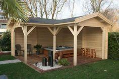 Gazebos & Verandas from Forest Products - Custom Log Cabins and Summerhouses in Aberdeenshire, Scotland, Bertsch Holzbau. Logcabins.lv and Lugarde Main Dealer