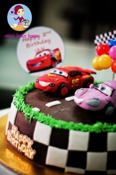 The Cars By AniesBakeHouse on CakeCentral.com