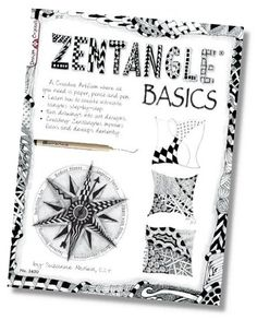 zentangle: how to basics- good starter site. lots of links plus at bottom is a step by step zentangle Mandala Designs Zentangle Drawings, Doodles Zentangles, Doodle Drawings, Tangle Doodle, Zen Doodle, Doodle Art, Doodle Patterns, Zentangle Patterns, Zantangle Art