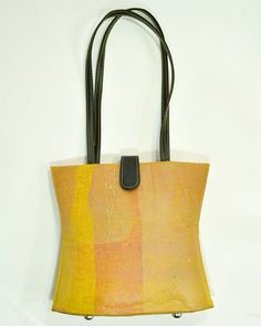 Jackie Handbag by Conserve India - made from recycled plastic bags and fair trade/