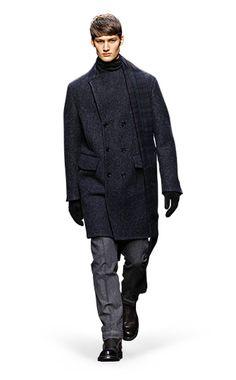 Ermenegildo Zegna Couture: Fall Winter 2014-15 Fashion Show by Stefano Pilati – Look 12