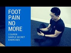 3 secret exercises for plantar fasciitis foot pain - these totally cured my foot pain! - YouTube