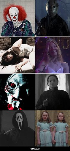 Don't Look at These Horror Movie GIFs With the Lights Off - raleigh Don't Look at These Horror Movie Horror Movie Costumes, Horror Movie Characters, Best Horror Movies, Classic Horror Movies, Scary Movies, Great Movies, Horror Villains, Comedy Movies, Reylo