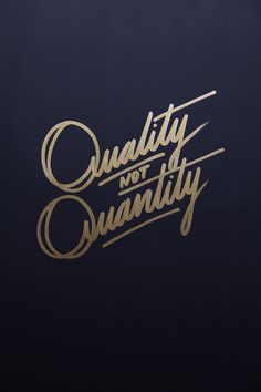 Golden lettering / collection '13 by Ricardo Gonzalez, via Behance