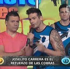Joselito Carrera ahora forma parte de Esto es Guerra y es el refuerzo de las Cobras