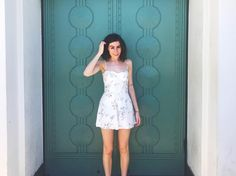 """dodie on Instagram: """"I am home LA I promise to come back soon with a head that matches ur blue skies!"""""""