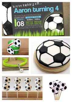 Etsy Finds Soccer Ball Party Ideas