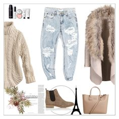 """""""yes"""" by mayabee88 ❤ liked on Polyvore featuring OneTeaspoon, Barneys New York, MANGO and Bobbi Brown Cosmetics"""