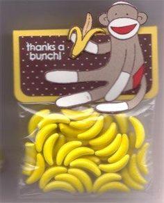I'm bananas for Sock Monkey's