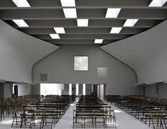 Christ's Resurrection Church by Cino Zucchi Architetti  #architecture #religious-buildings