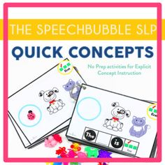 Basic concepts are the building blocks of language. They provide the base on which to follow directions, answer quetsions, define words... When kids start to learn these concepts simple, direct practice is key.