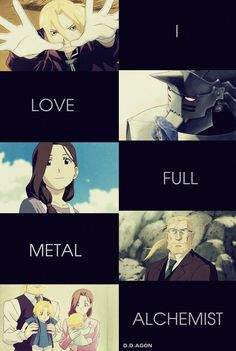 I made it, i know it not beautiful, but i really love FMA << It's fabulous, bro. <---- I concur.