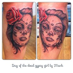 Tattoo by Mark Serious Ink
