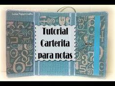 Cómo hacer Carterita para notas - DIY Tutorial - YouTube