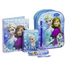Disney Frozen theme blue backpack with essential stationery, that is perfect transporting your childs school essentials such as snacks, books, lunches, stationery and homework. Sac D'art, Spiderman, Batman, School Kit, Frozen Theme, Art Bag, Rucksack Backpack, Kids Gifts, Disney Frozen
