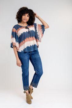 JEANS BORDADO INGLÉS Denim, Jeans, Women, Style, Fashion, Long Gowns, Broderie Anglaise, Pants, Blouses