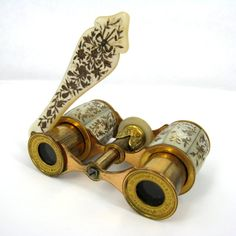 Mother of Pearl Inlaid #Opera Glasses, French