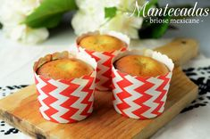 Mantecadas - briose mexicane Lidl, Tortillas, Mexican Food Recipes, Candle Holders, Candles, Chili Con Carne, Kitchens, Mince Pies, Candlesticks