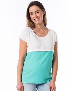 Maternity Tops & Pregnancy Clothes available to buy online. We have a huge selection of affordable maternity tops that will take you through pregnancy and postpartum. Maternity Wear, Maternity Tops, Buy Clothes Online, Nursing Tops, Breastfeeding, Pregnancy, V Neck, Sorbet, Stylish