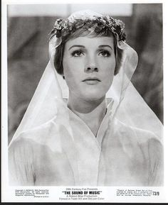 Julie Andrews Sound of Music 1965 8 X 10 Photo (38196)