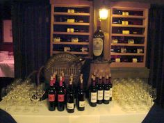 Our wine racks in a restaurant in NY. You can find more at WineRacks.com