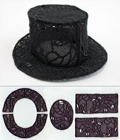 Lace Top Hat by Anlij