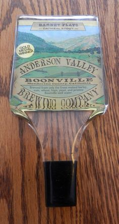Vintage Anderson valley brewing co boonville Ca tapper handle by BandCEmporium, $12.50