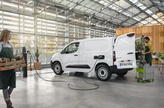- UK order books open today (Tuesday 31 August) for the new 100%-electric Citroën ë-Berlingo Van, with Basic MRR prices starting from £24,910 (after Government PIVG of £3,000*, excluding VAT). - New ë-Berlingo Van is available with two different body lengths and in either Panel Van or Crew Van configuration – the Crew Van can transport cargo and up to five people at the same time. Order Book, Peugeot, Diesel, Toyota, Transportation, Van, Motors, Tuesday, Electric