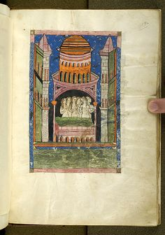 De balneis Puteolanis, MS G.74 fol. 19r - Images from Medieval and Renaissance Manuscripts - The Morgan Library & Museum