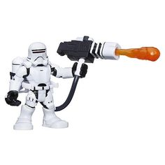 Star Wars Galactic Heroes First Order 2.5 inch Action Figure - Flametrooper…