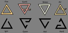 The witcher signs compared to the element symbols #TheWitcher3 #PS4 #WILDHUNT #PS4share #games #gaming #TheWitcher #TheWitcher3WildHunt