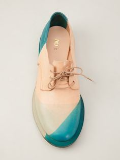 ETS CALLATAY Multicolored Flat Derby