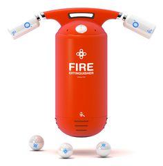 Capsule fire extinguisher