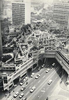 City Center Renovation by Jean Renaudie  Ivry/Seine, France (1969-72)